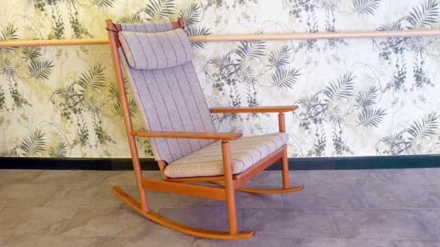 2830. Rocking Chair, Hans Olsen